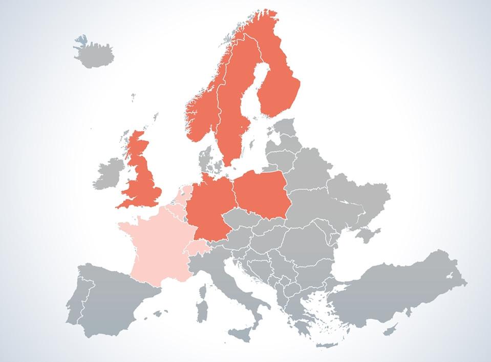 Dla kandydata - Zobacz w jakich krajach możemy znaleźć dla Ciebie pracę!